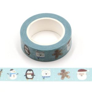 The Gingerbread Man & Friends Christmas Washi Tape