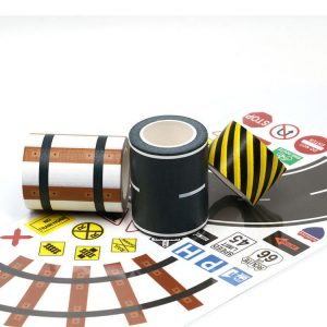 New Toy Series Road Set Washi Tape