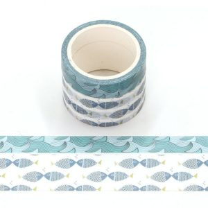 Pack of 2 Fragrance Ocean Scented Washi Tape 4.5m