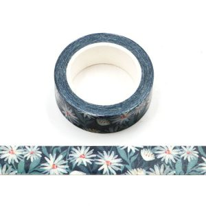 Little Daisy Decorative Washi Tape 15mm x 10m