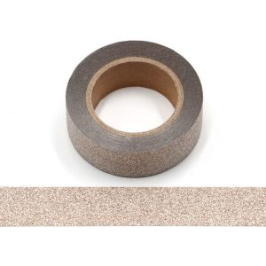 Champagne Glitter Washi Tape Decorative Tape 15mm x 10m