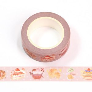 Colourful Cup Cake Washi Tape 15mm x 10m