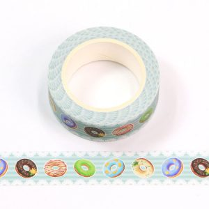 Colourful Donuts Washi Tape 15mm x 10m