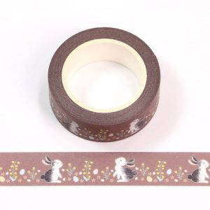 Cute Rabbit Washi Tape 15mm x 10m