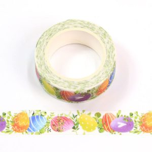 Colourful Easter Eggs Washi Tape 15mm x 10m