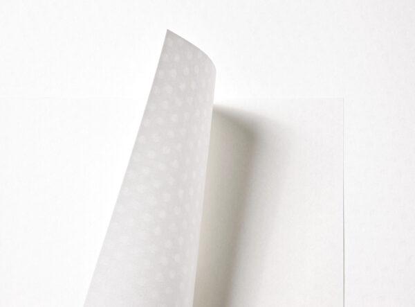 Tamashiki Shiro Premium Pale Ivory Polka Dot Paper 81gsm 10 Sheets