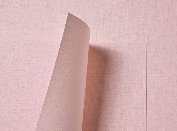 Tant Select Premium Double Sided Pale Pink Linen Embossed Paper 116gsm 10 Sheets