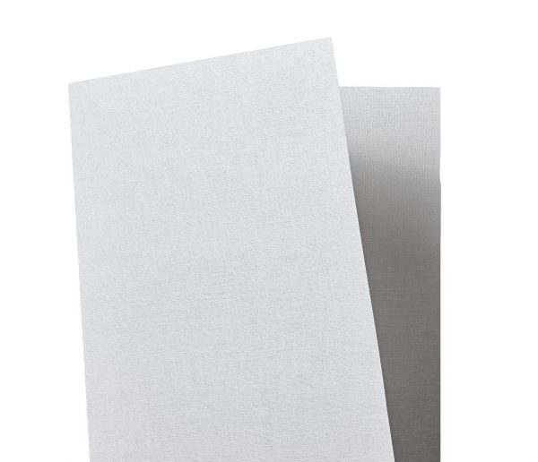 Tant Select Premium Double Sided White Linen Embossed Paper 116gsm 10 Sheets