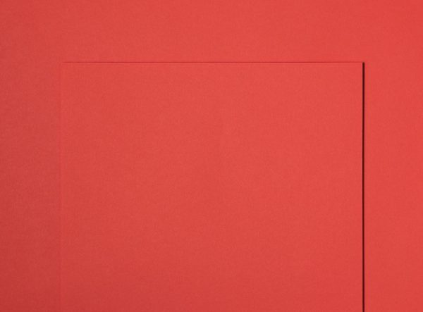 Extract Coral Red Paper Contains Recycled Coffee Cups 130gsm