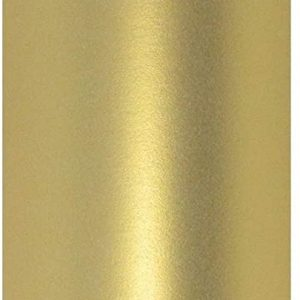 """12"""" x 12"""" Real Gold Colour Pearlescent Square Scrapbook Paper 120gsm"""