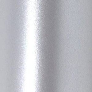 """12"""" x 12"""" Real Silver Colour Pearlescent Square Scrapbook Paper 120gsm"""
